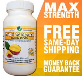 African Mango supplement - 30-day supply