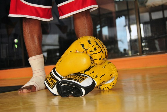 Stay active with boxing