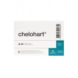 Chelohart capsules, the Heart peptide bioregulator