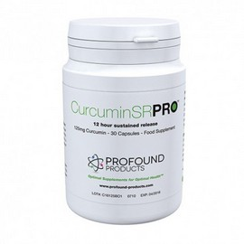 Curcumin SR Pro capsules, 12-hour sustained release