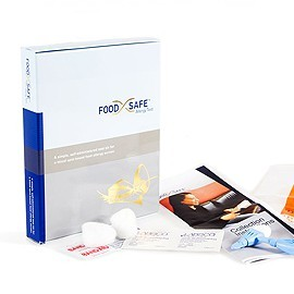 Foodsafe kit for 95 tests at home
