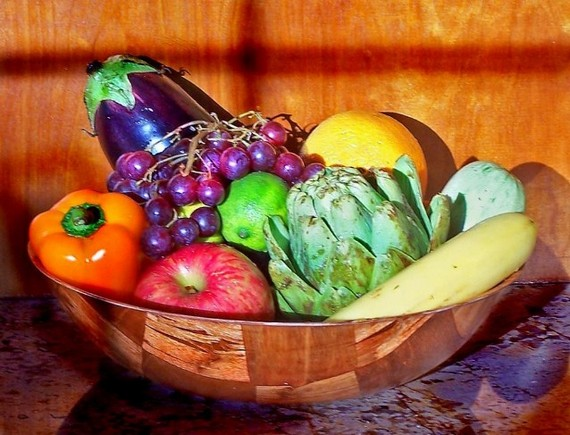 Fruit and vegies provide for many nutritional needs