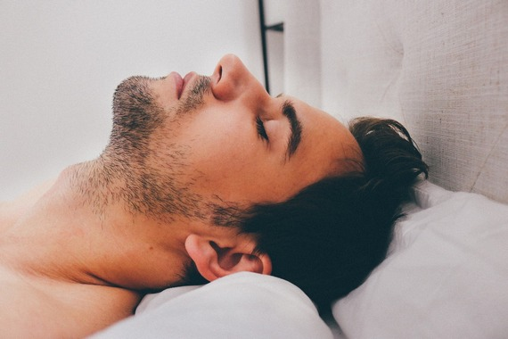 Sleeping on back can cause snoring