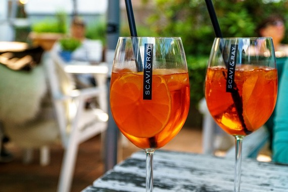 Orange wine - one of the healthy-food trends.