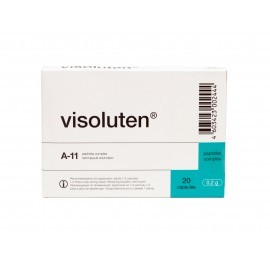 Visoluten capsules, the Retina peptide bioregulator