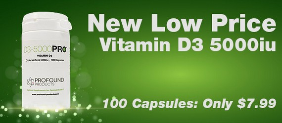 Vitamin D3 5000iu New Low Price